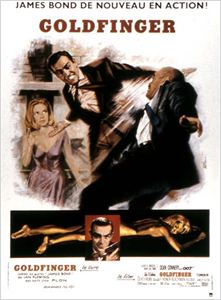 James Bond : Goldfinger affiche