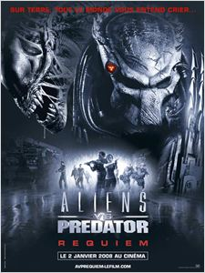 Aliens vs. Predator - Requiem affiche