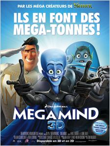 Megamind affiche