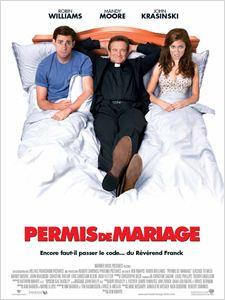 Permis de mariage affiche