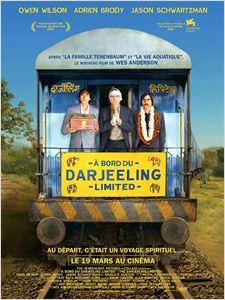 A bord du Darjeeling Limited affiche