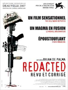 Redacted affiche