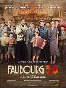 Faubourg 36 affiche