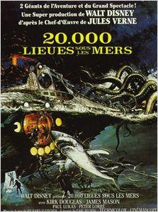 20.000 lieues sous les mers affiche