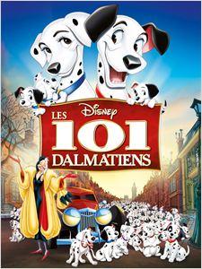 Les 101 Dalmatiens - 1961 affiche