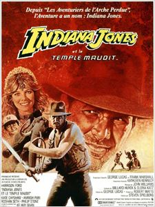 Indiana Jones et le Temple maudit  ( 2 ) affiche