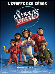 Les Chimpanzés de l'espace affiche