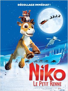 Niko, le petit renne affiche