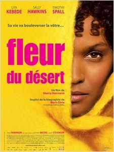 Fleur du désert affiche