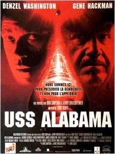 USS Alabama affiche