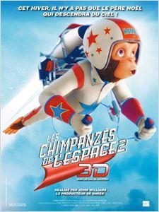Les Chimpanzés de l'Espace 2 affiche