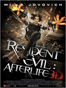 Resident Evil : Afterlife affiche