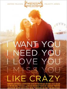 Like Crazy affiche