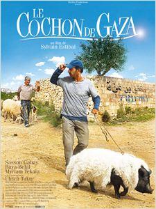 Le cochon de gaza affiche