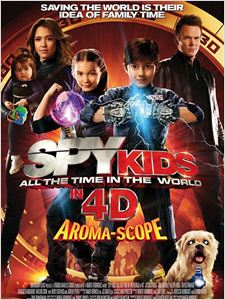 Spy Kids 4: All the Time in the World affiche