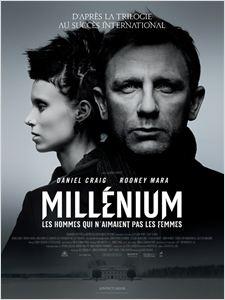 Millenium : Les hommes qui n'aimaient pas les femmes affiche