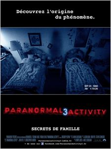 Paranormal Activity 3 affiche