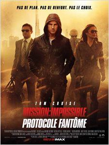 Mission : Impossible - Protocole fantôme affiche