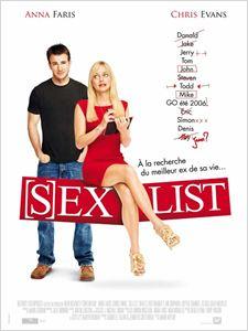 (S)ex List affiche