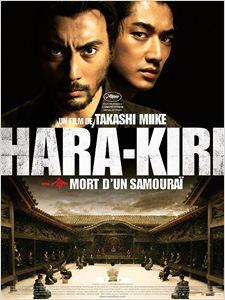 Hara-Kiri : mort d'un samourai affiche