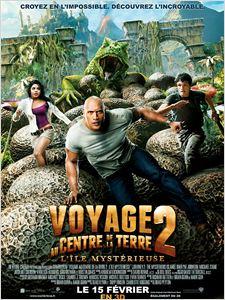 Voyage au centre de la Terre 2 : L'île mystérieuse affiche