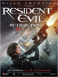 Resident Evil: Retribution affiche