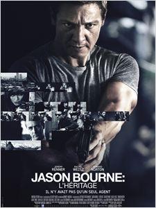 Jason Bourne : l'héritage affiche