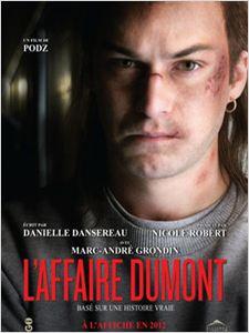 L'affaire Dumont affiche