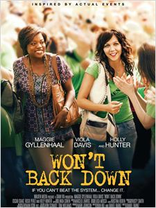 Won't Back Down affiche