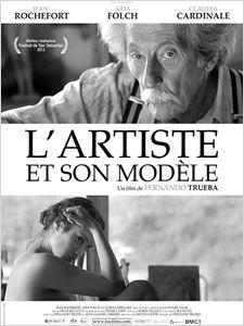 L'Artiste et son modèle affiche