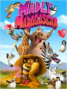 Madagascar à la folie affiche