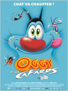 Oggy et les cafards affiche