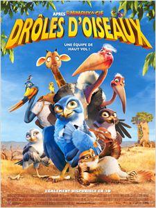Drôles D'oiseaux (Zambezia) affiche