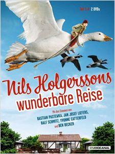 Nils et les oies sauvages affiche