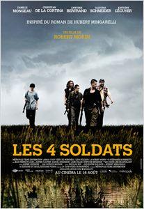 Les 4 soldats affiche