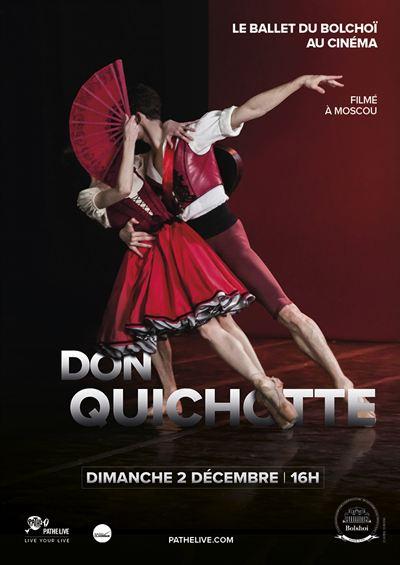 Don Quichotte (Bolchoï - Pathé Live)