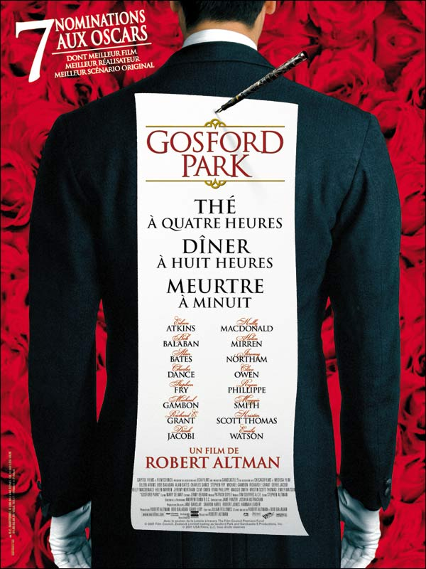 Gosford Park [FRENCH][Bluray 1080p]