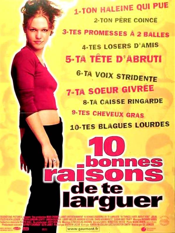 10 bonnes raisons de te larguer DVDRiP   FRENCH