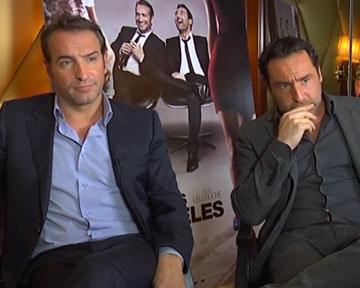 Interview jean dujardin jean dujardin gilles lellouche for Dujardin interview