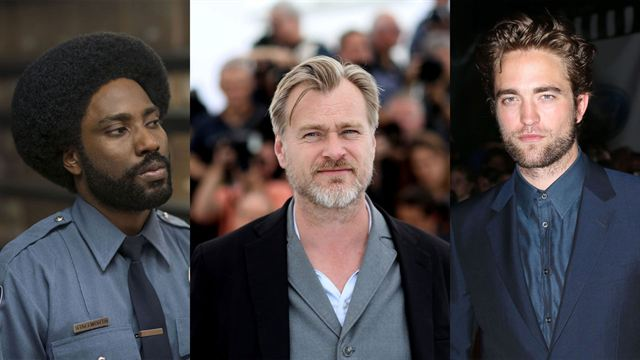 Robert Pattinson et John David Washington chez Christopher Nolan