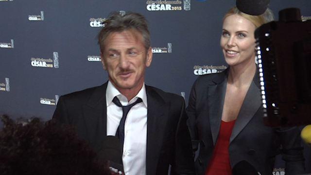 Cannes 2015 : Sur le tapis rouge avec Sean et Charlize