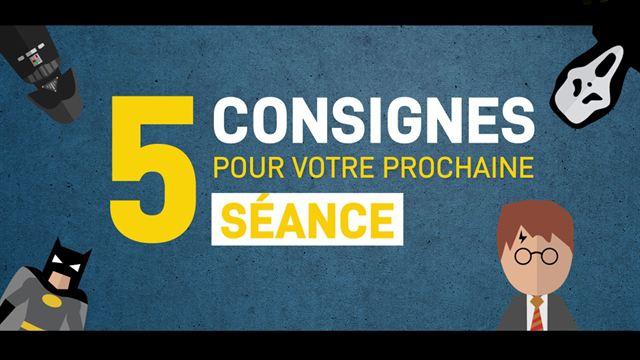 #TousAuCinema - 5 consignes pour votre prochaine séance