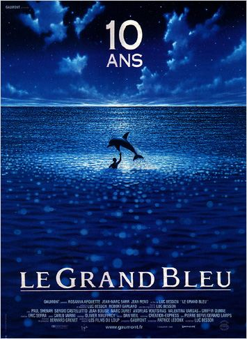 Le Grand bleu affiche