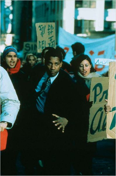 Couvre-feu : photo Denzel Washington, Edward Zwick