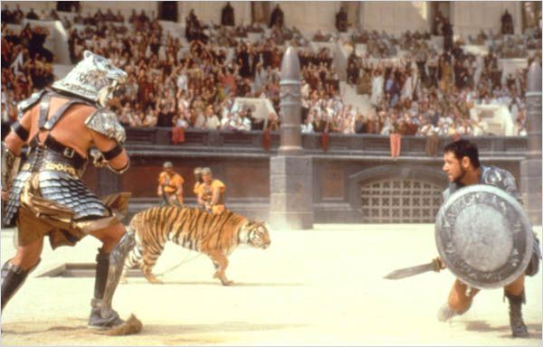 Gladiator : Photo Ridley Scott, Russell Crowe