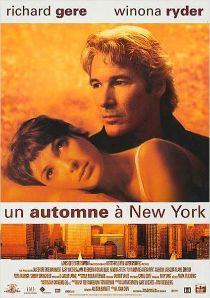 Un automne à New York affiche