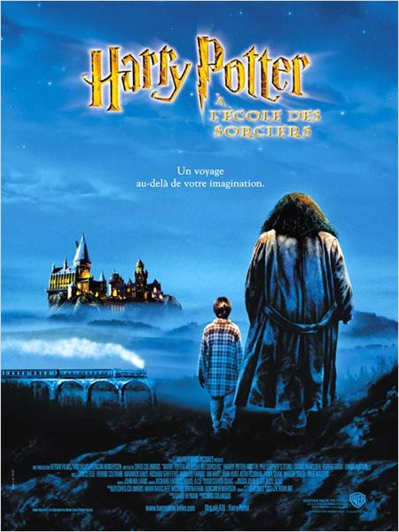 Harry Potter à l'école des sorciers : affiche Chris Columbus