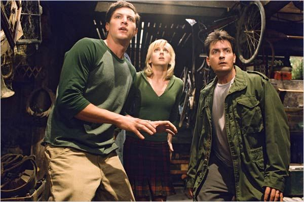 Scary Movie 3 : photo Anna Faris, Charlie Sheen