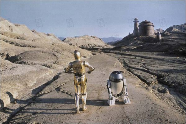 Star Wars : Episode VI - Le Retour du Jedi : Photo Anthony Daniels, George Lucas, Kenny Baker, Richard Marquand