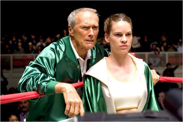 Million Dollar Baby : Photo Clint Eastwood, Hilary Swank